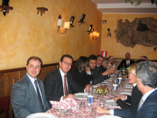 Best Practices Research Team Dinner - Med Jones - International Institute of Management - USA