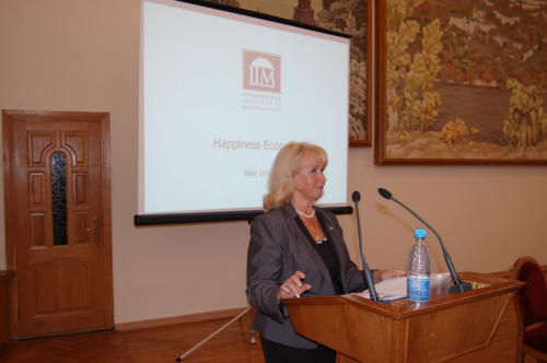 Gross National Happiness and Well-being (GNW) - Research Dissemination Seminar - Kyiv National Economic University -